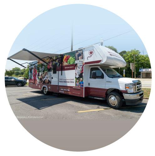 Dekalb County Board of Health Mobile COVID-19 Vaccine Clinic